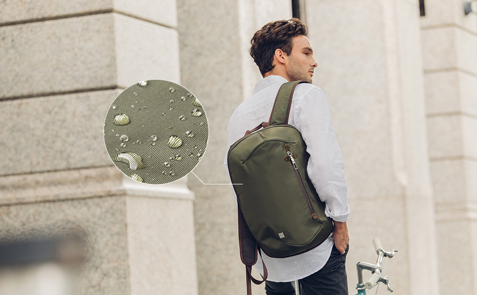Functional and ultra lightweight, Hexa is more than your average backpack. Hexa is water-resistant, and durable thanks to its 200D high-density Nylon construction.