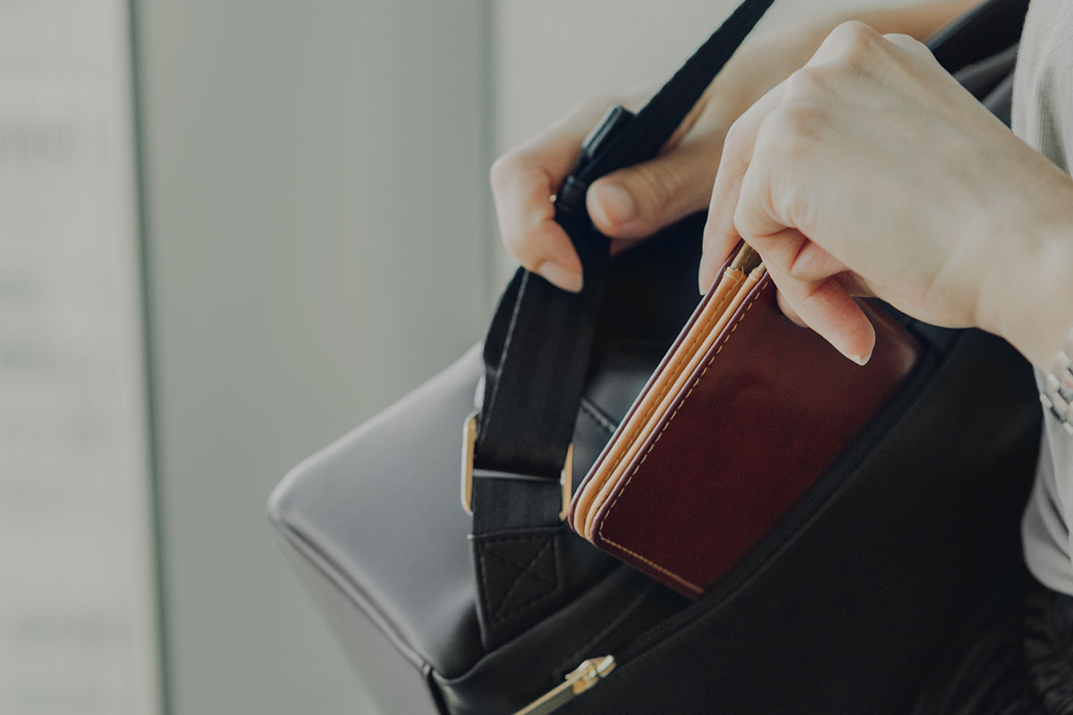 Keep your wallet or phone close to your body and easily accessible.