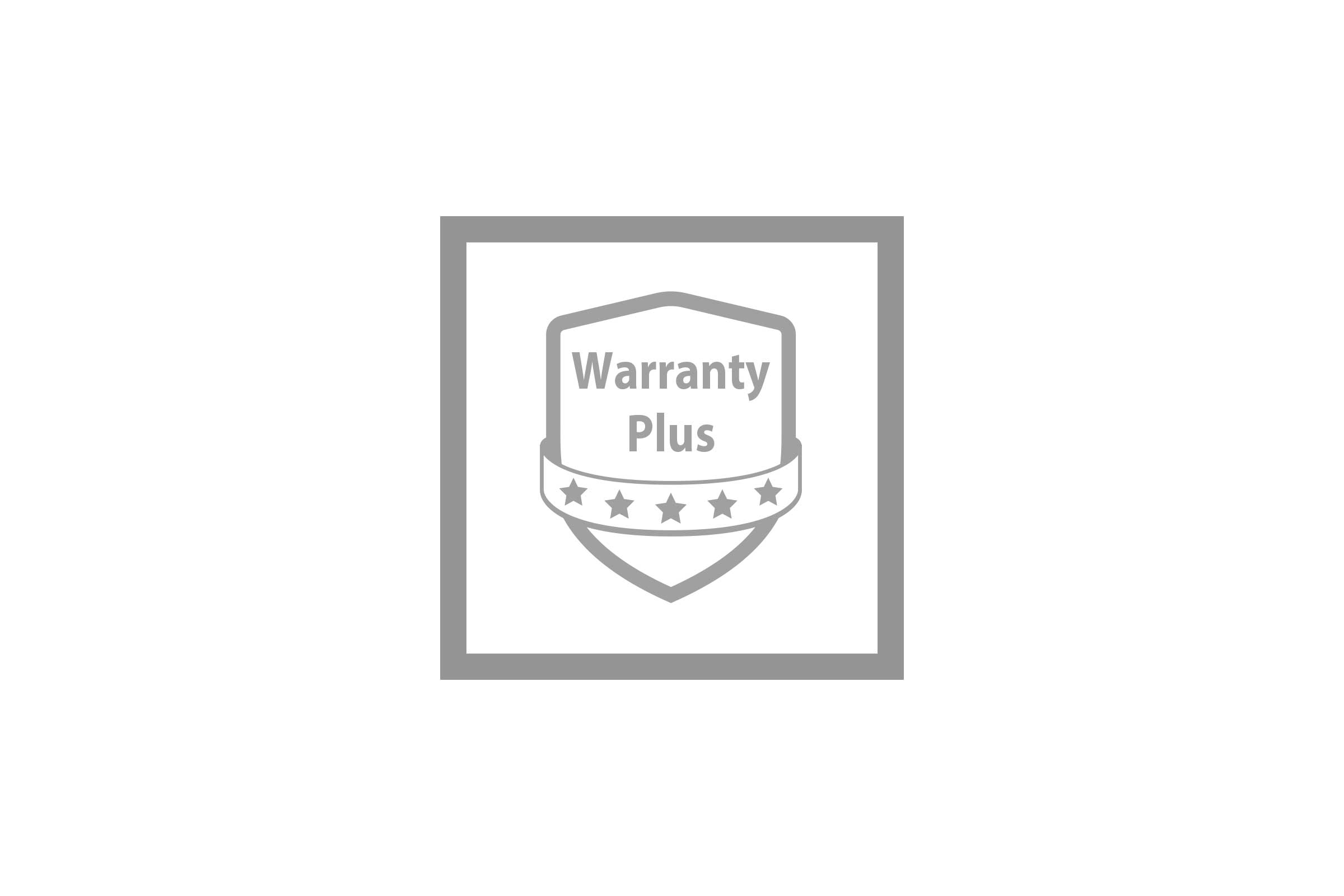 Enjoy extended warranty coverage upon product registration.